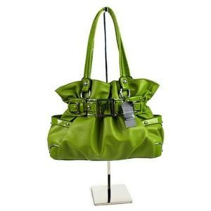 Wilsons Leather Green Ellie VI Faux Leather Purse